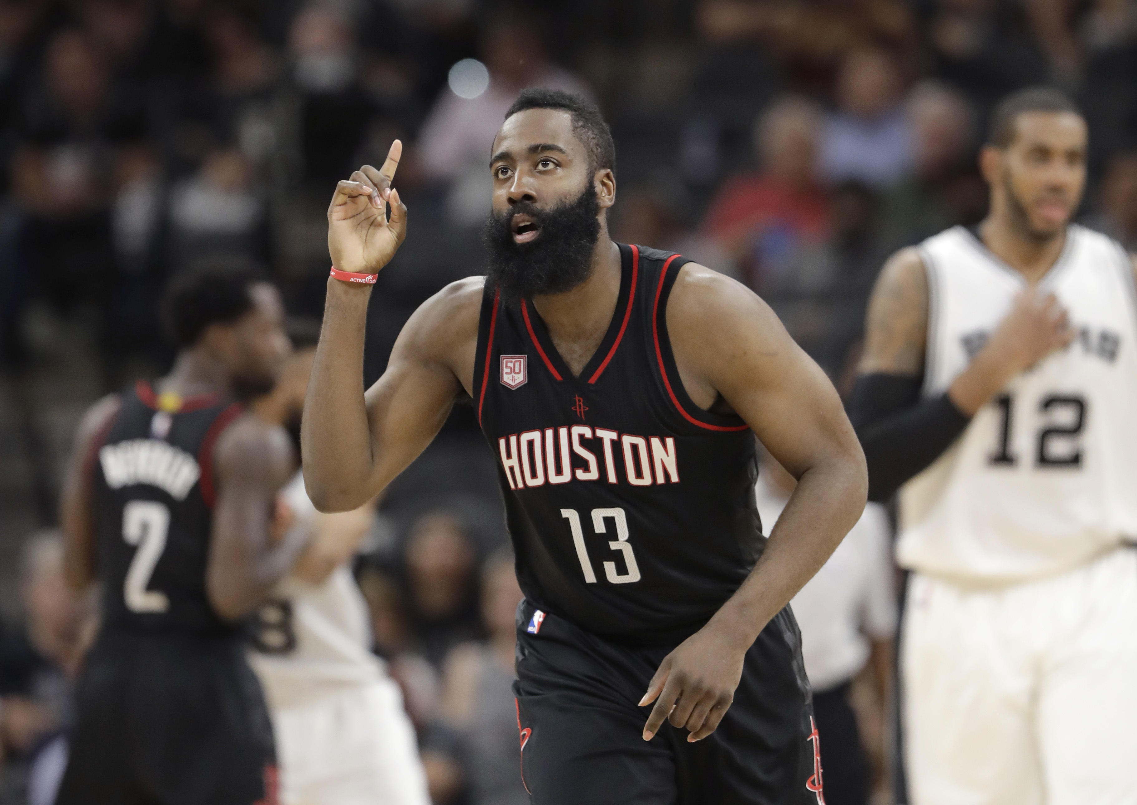 James Harden 30-Point Streak