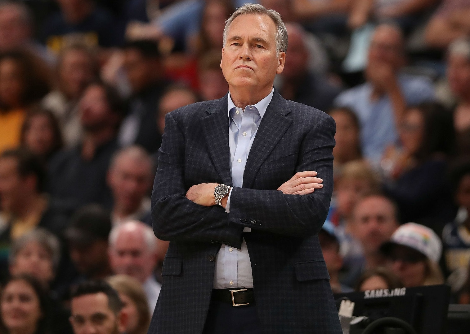 "Houston could be in ""Big Trouble"", says Coach D'Antoni"