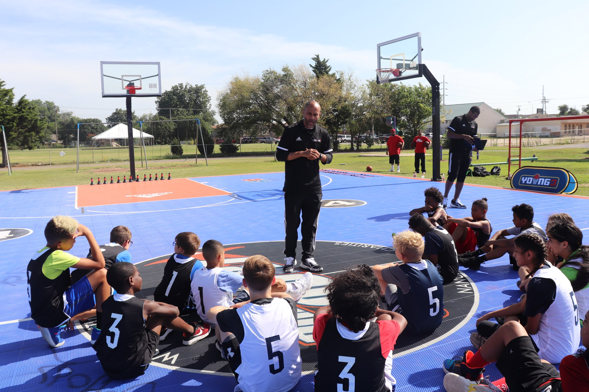 Young3, BIG3, and Nancy Lieberman Improve OKC's Community