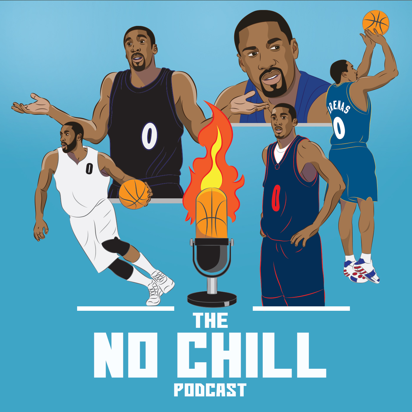 Gilbert Arenas offers up his unique perspective on all things basketball, pop culture and whatever else is on his mind.  No Chill Podcast.