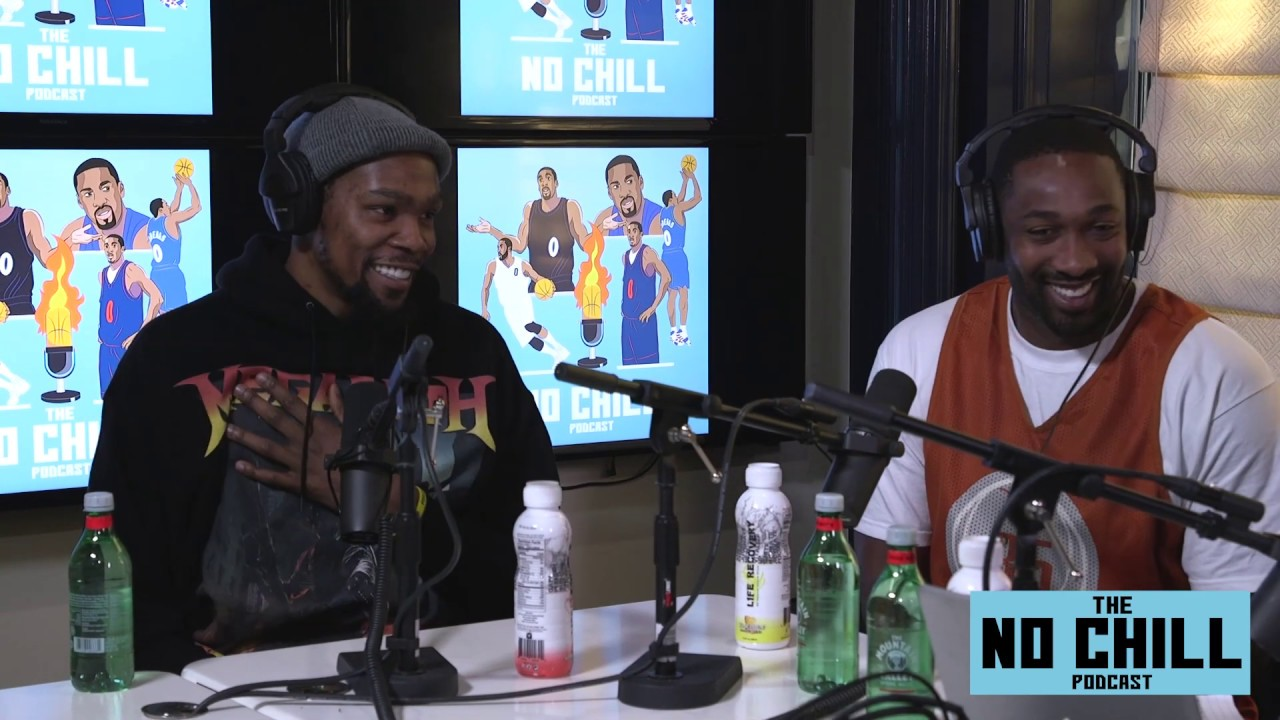 Gilbert Arenas offers up his unique perspective on all things basketball, pop culture and whatever else is on his mind.  Kevin Durant on the show.  No Chill Podcast.