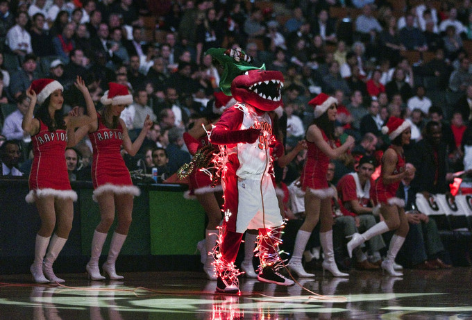 Toronto Raptors Won't Be Playing on Christmas Day